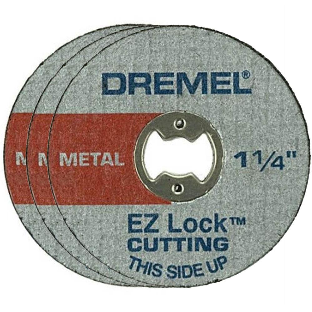 DISCO DE CORTE METAL 1.1/4 COM 3 UNIDADES DREMEL EZ426 2615E426AA