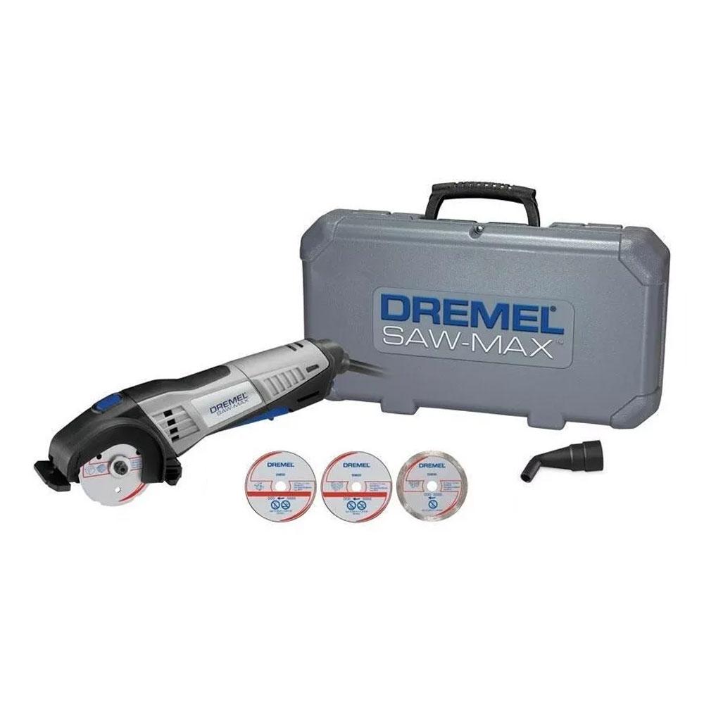 FERRAMENTA ROTATIVA DREMEL SAW MAX 710W 220V COM MALETA F013SM20NC