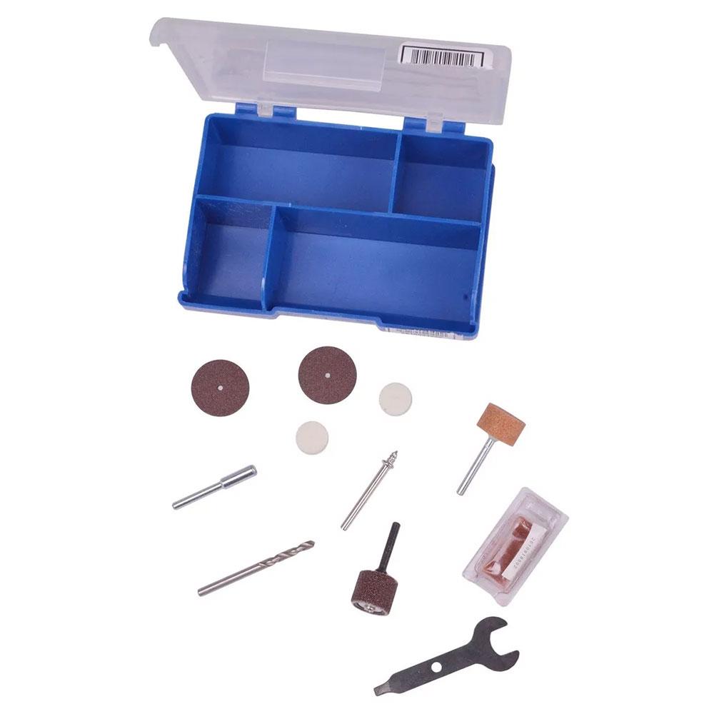 MICRORETIFICA DREMEL 3000 COM 10 ACESSORIOS 127V F0133000PB