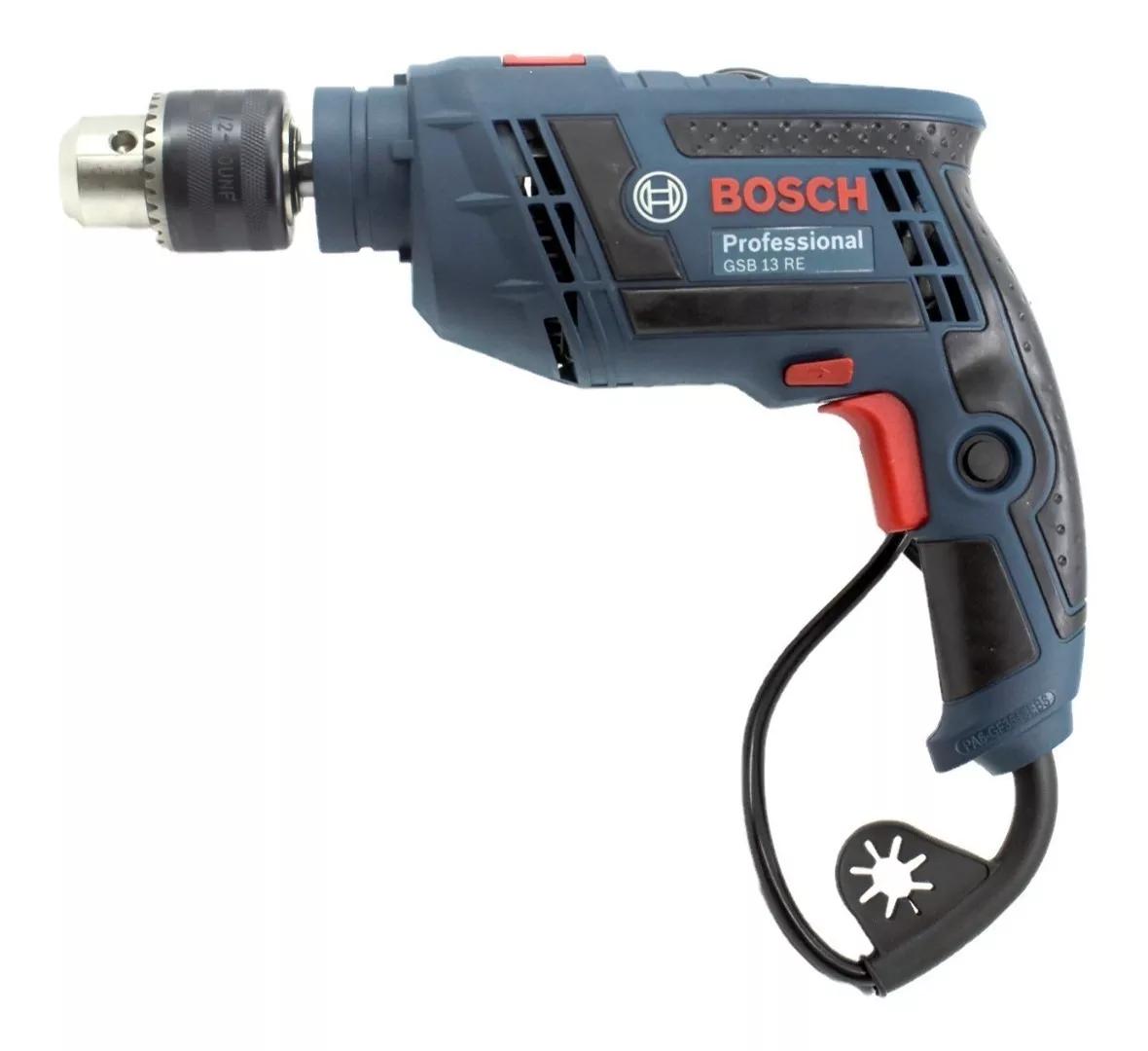 """Furadeira De Impacto 1/2"""" Gsb13re 650w 127v Bosch 123D 060123D5D0"""