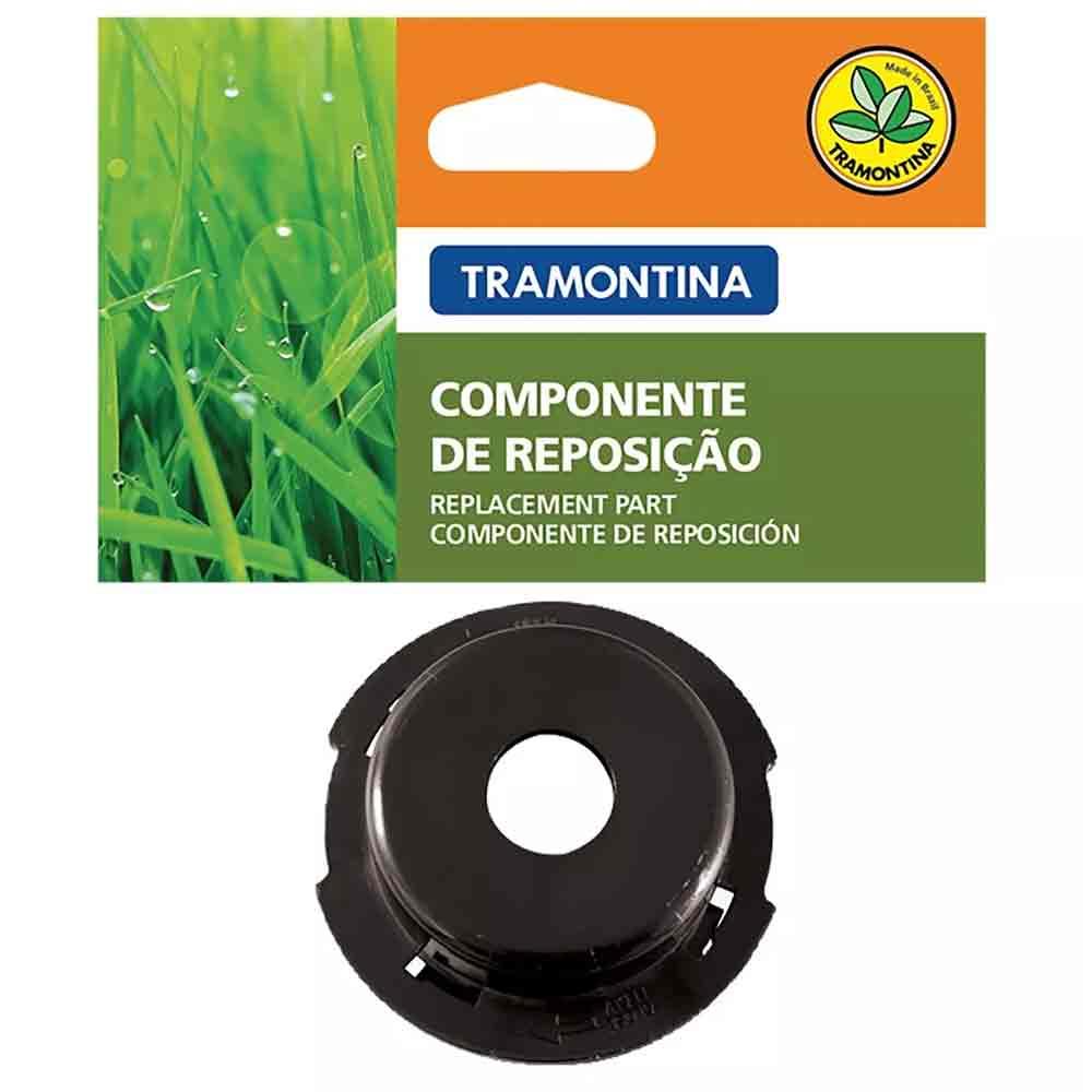 TAMPA PLASTICA PARA CARRETEL DE APARADOR DE GRAMA TRAMONTINA 78799/716