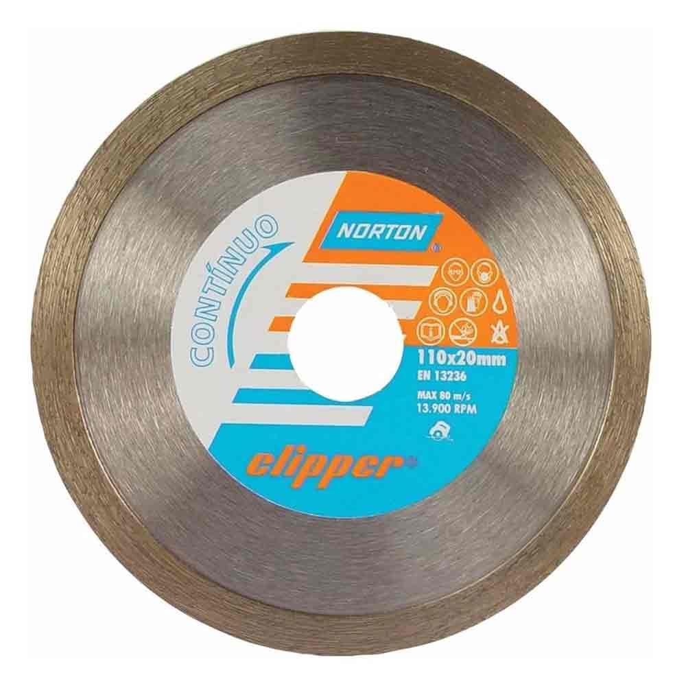 DISCO DIAMANTADO LISO 110 X 20 X 7MM CLIPPER 70184624369