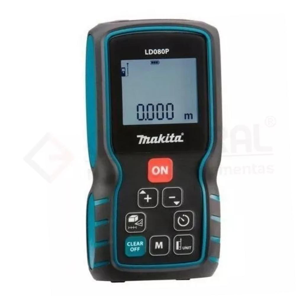 Medidor De Distância Laser 80 Metros LD080P Makita