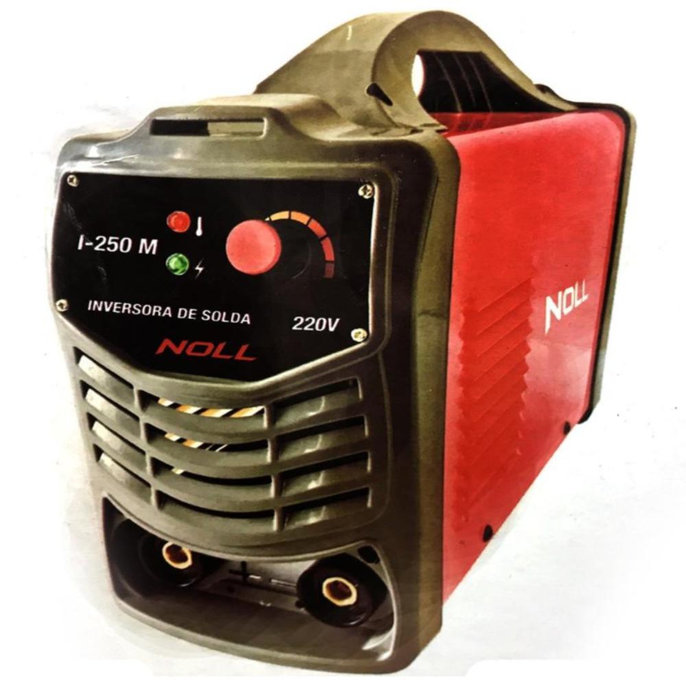 APARELHO DE SOLDA INVERSORA 250 AMP 220V NOLL