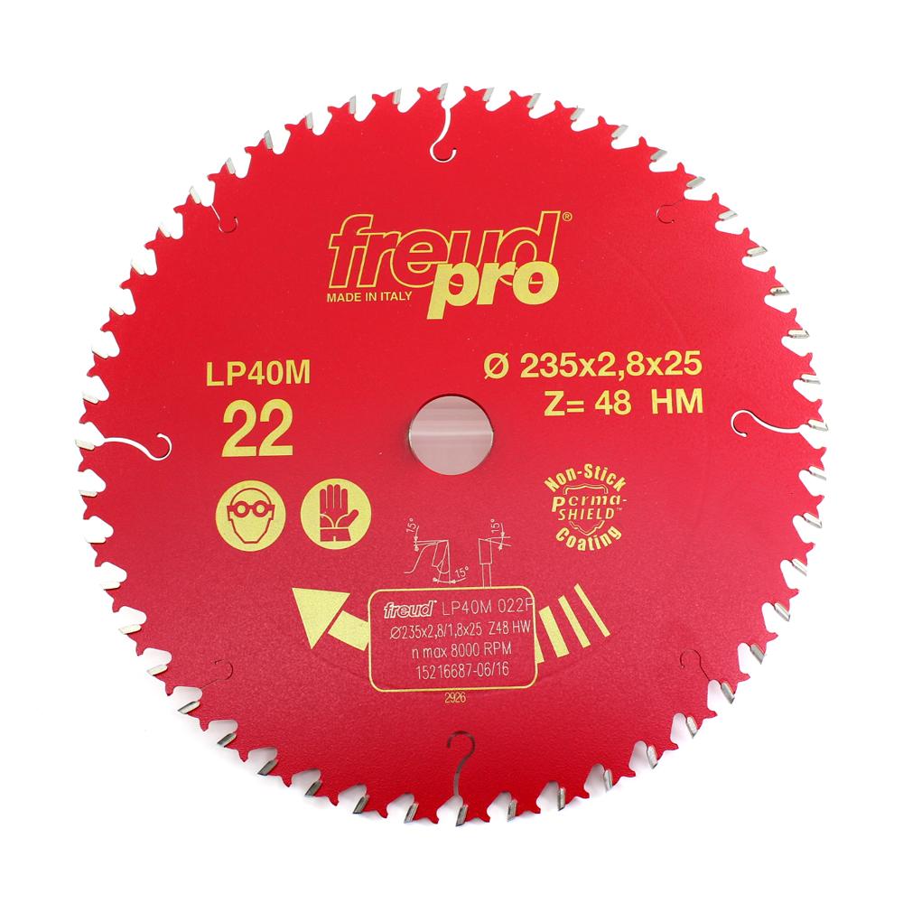 LAMINA DE SERRA 235 X 25,4 X 48Z MD FREUD