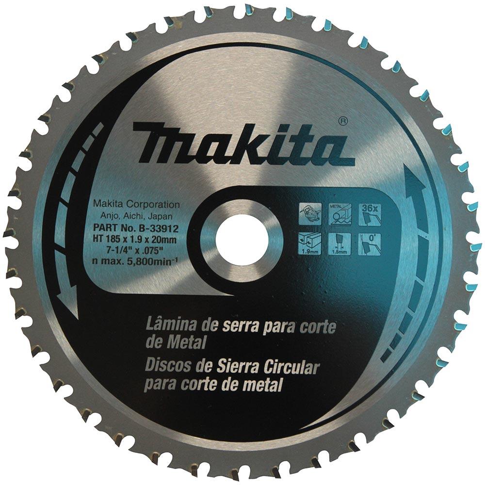 LAMINA SERRA METAL 185 X 20 X 36D (4131) MAKITA B-33912
