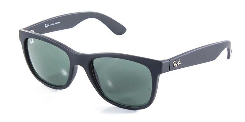 2386e7e8c ... Óculos De Sol Ray Ban Highstreet Quadrado RB4219 Preto - Armação em  Acetato na cor Preto ...